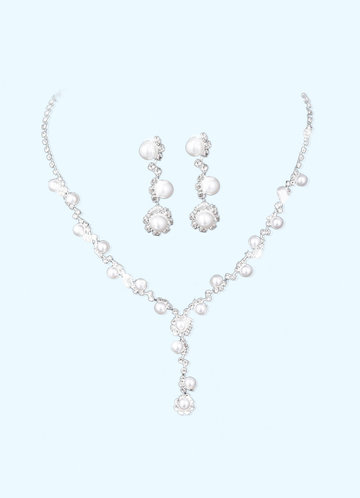 front_Pearly Night Jewelry Set