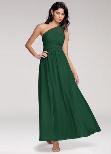 Magical Day Dark Green Maxi Dress