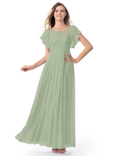 Azazie Lily Modest Bridesmaid Dress