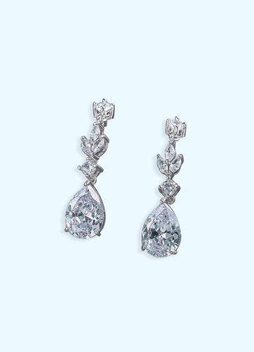 front_Fleur de Lis Drop Earrings