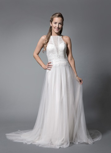 Azazie Zorina Wedding Dress