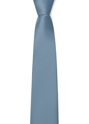 back_Gentlemen's Collection Matte Satin Skinny Tie