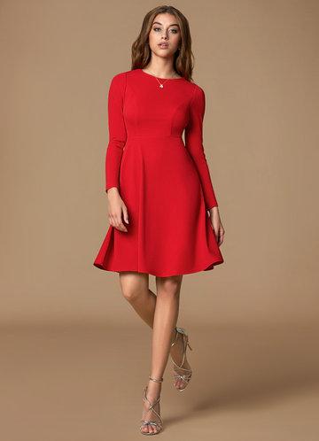 Bella Red Mini dress