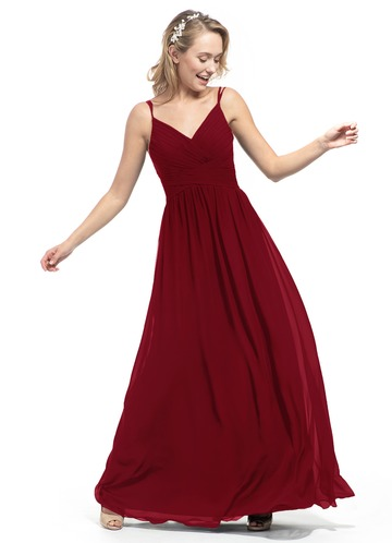 762d5888a3827 Burgundy Bridesmaid Dresses | Azazie