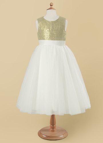 Azazie Abitha Flower Girl Dress