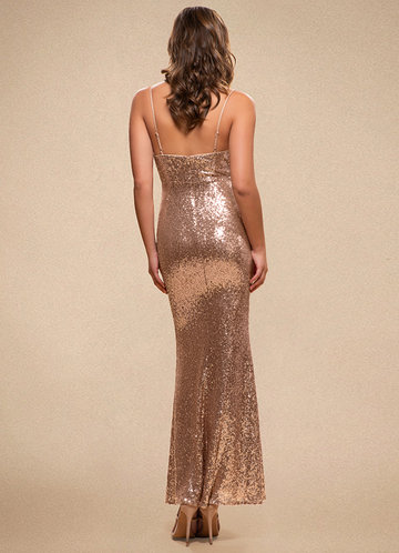 back_Glamorous {Color} Sequin Maxi Dress