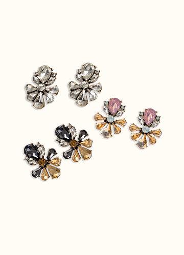 back_Cluster Earrings