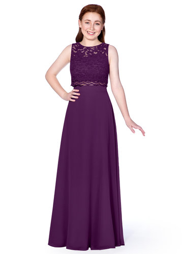 Azazie Shae Junior Bridesmaid Dress