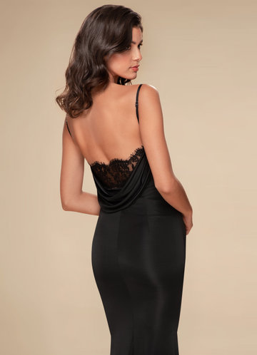 Foxtrot Black Maxi Dress