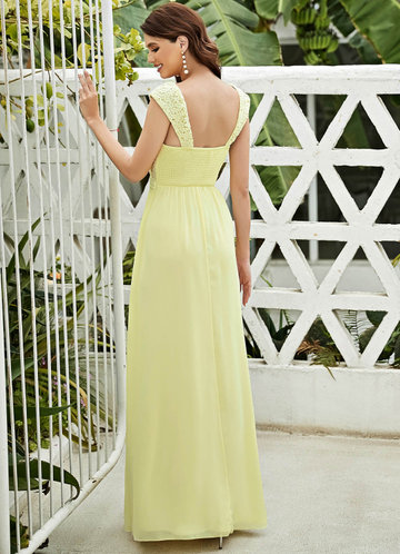 back_EVER-PRETTY Lace Yoke Shirred Back Maxi Dress
