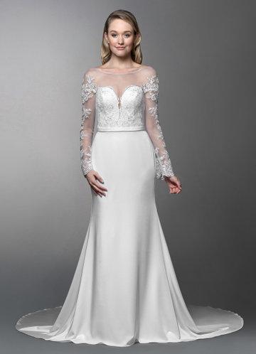 Azazie Ernestine Wedding Dress