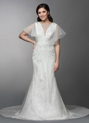 Azazie Jeanine Wedding Dress