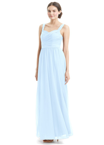 Azazie Sky Bridesmaid Dress