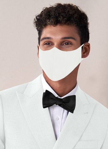 front_Azazie Men's Non-Medical Reusable Suiting-style Face Mask