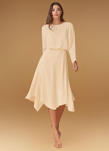 front_Blush Mark Power of Love {Color} Midi Dress