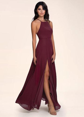Sweet Darling Cabernet Maxi Dress
