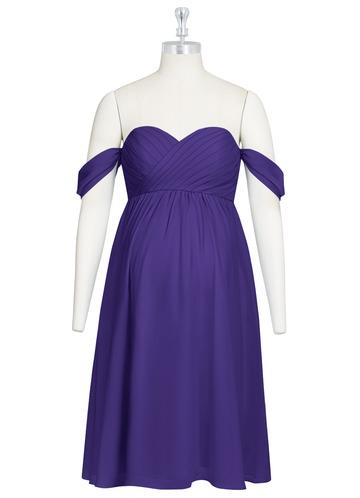 Azazie Gemma Maternity Bridesmaid Dress