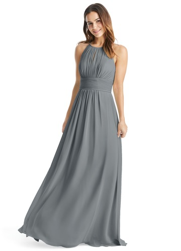Steel Grey Bridesmaid Dresses