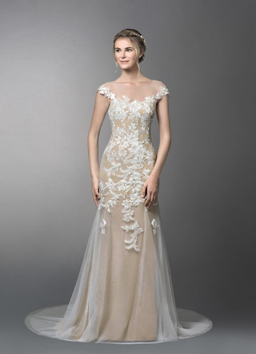 Azazie Eudora Wedding Dress