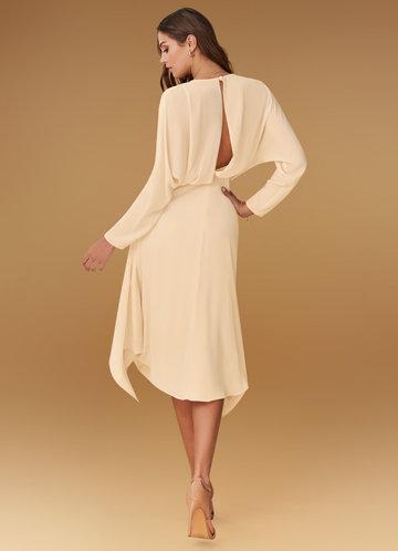 back_Blush Mark Power of Love {Color} Midi Dress