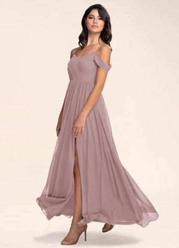 Philosophy Of Love Vintage Mauve Maxi Dress