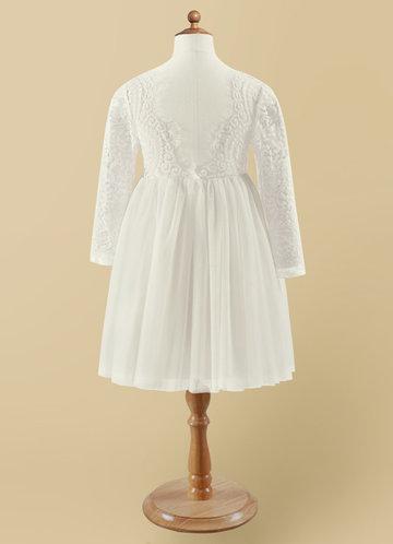 back_Azazie Vada Flower Girl Dress