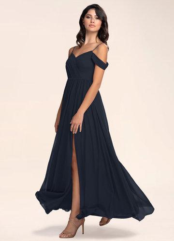Philosophy Of Love Dark Navy Maxi Dress