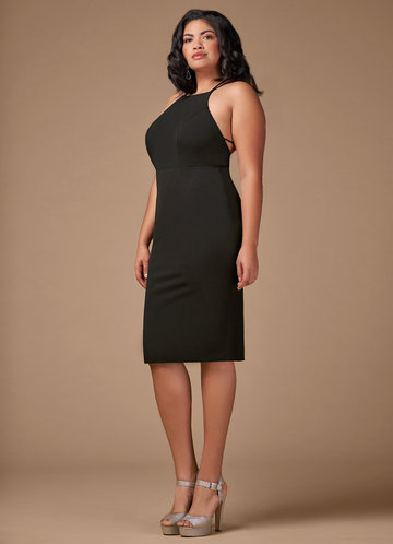 front_Blush Mark Plus Size Cocktail Hour  Midi Dress