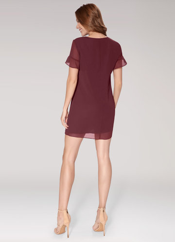 back_Blush Mark Sunlight {Color} Mini Dress