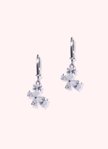 front_Shimmering Cluster Earrings