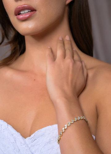 back_Silver Laurel Leaf Bracelet