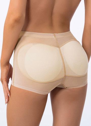 back_Butt Lifting Padded Seamless Shaper Shorts