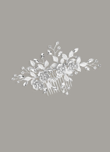 back_Classical Floral Combs