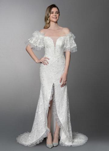 Azazie Hathaway Wedding Dress