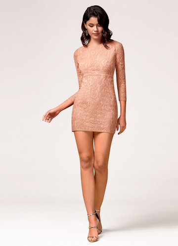 Perfect Day Blush Mini Dress