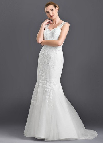 Azazie Elliana Wedding Dress