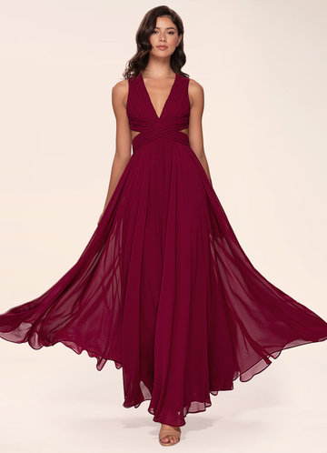 Unforgettable Burgundy Maxi Dress