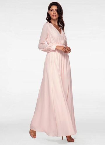 One And Only Blush Maxi Dress