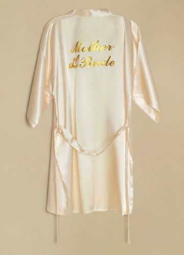front_Mother of the Bride Satin Robe