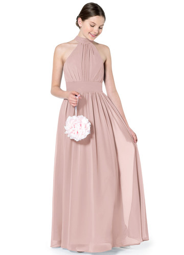 fd1e4682a028b Dusty Rose Junior Bridesmaid Dresses | Azazie