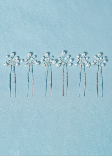 back_Pearl Strands HairPins Set
