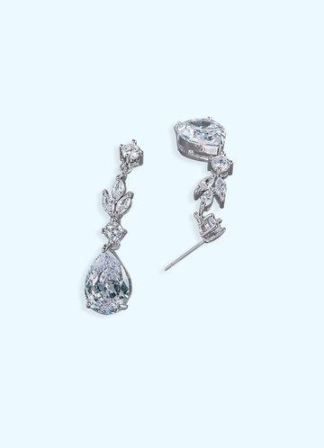 back_Fleur de Lis Drop Earrings