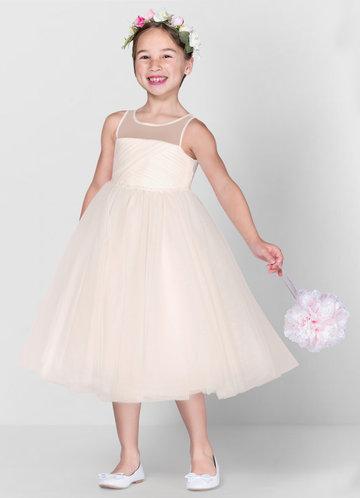 front_Azazie Brienne Flower Girl Dress