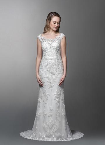 Azazie Amora Wedding Dress