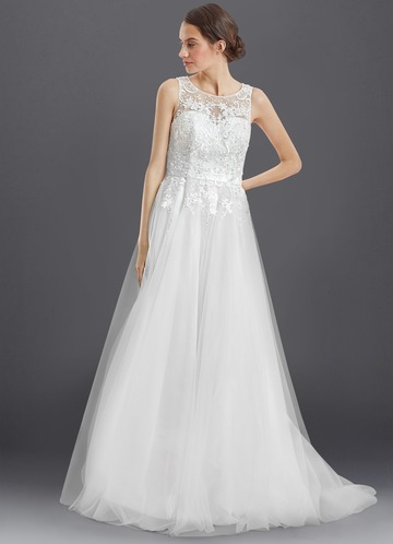 Azazie Paisley Wedding Dress