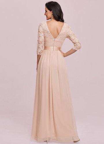 back_EVER-PRETTY Zip Back Lace Bodice Dress