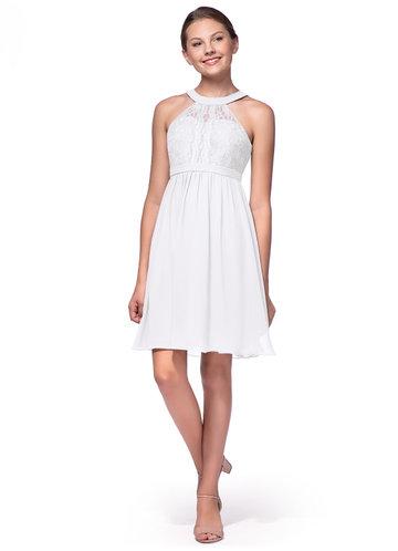 Azazie Andalise Junior Bridesmaid Dress