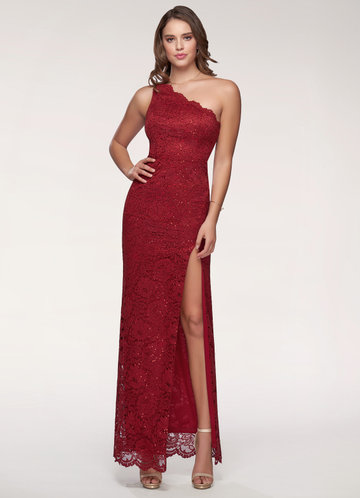 Wild Rose Burgundy Maxi Dress