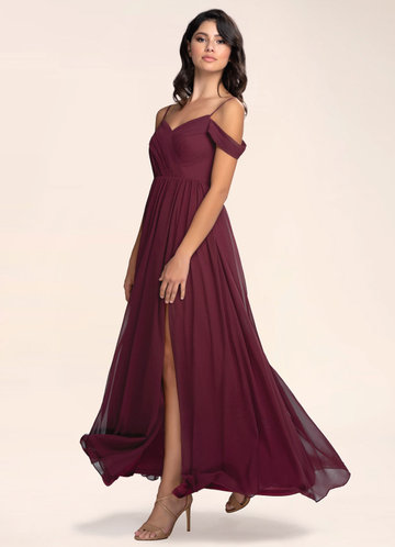 Philosophy Of Love Cabernet Maxi Dress