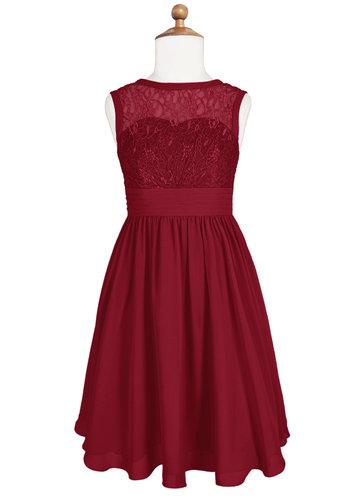 Azazie Finley Junior Bridesmaid Dress